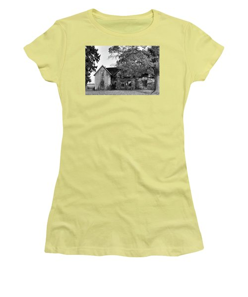 This Old House 2 Women's T-Shirt (Junior Cut) by Gary Hall