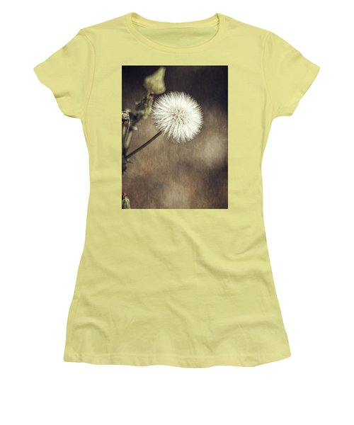 Women's T-Shirt (Junior Cut) featuring the photograph Thistle by Carolyn Marshall