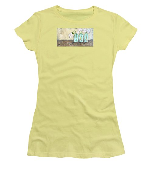 Three Of A Kind Women's T-Shirt (Junior Cut) by Kirsten Reed