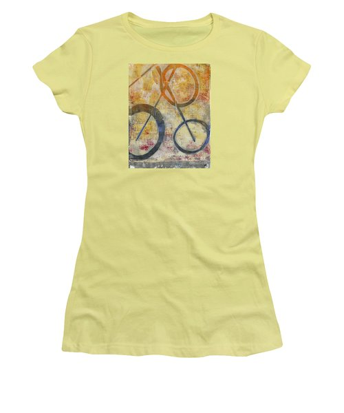 Three Worlds I Women's T-Shirt (Athletic Fit)