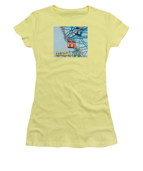 Thrills Women's T-Shirt (Athletic Fit)