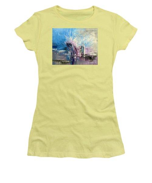 Through Morning's Light Women's T-Shirt (Junior Cut) by Tatiana Iliina