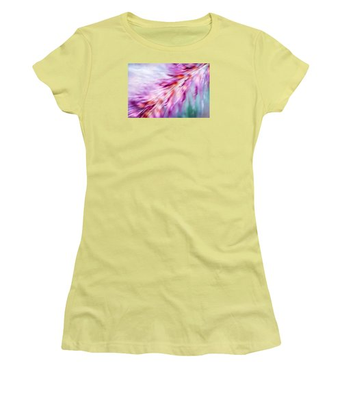 Women's T-Shirt (Junior Cut) featuring the photograph Tickle My Fancy by Carolyn Marshall