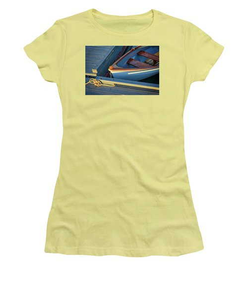 Women's T-Shirt (Athletic Fit) featuring the photograph Tied Up by Rick Berk
