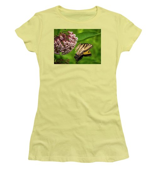 Tiger Swallowtail #210 Women's T-Shirt (Athletic Fit)