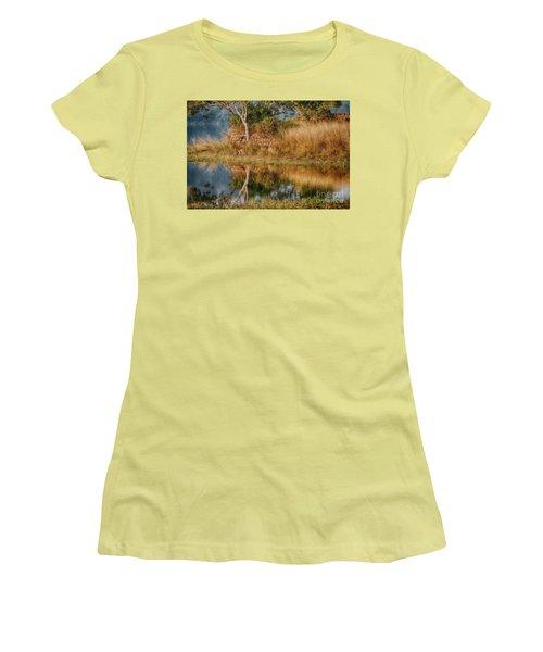 Tigerland Women's T-Shirt (Junior Cut) by Pravine Chester