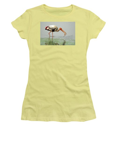 Time For A Meal Women's T-Shirt (Junior Cut) by Pravine Chester