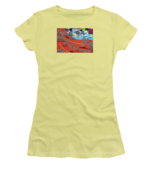 Time Is Moving Women's T-Shirt (Junior Cut) by Raymond Perez