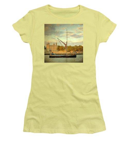 Women's T-Shirt (Junior Cut) featuring the photograph Time Travel by LemonArt Photography