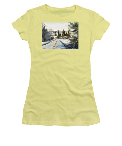Tin Roof Rusted Women's T-Shirt (Junior Cut) by Judith Levins