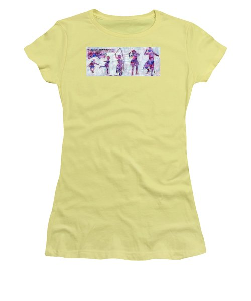 Tiny Dancer Growing Up Women's T-Shirt (Athletic Fit)