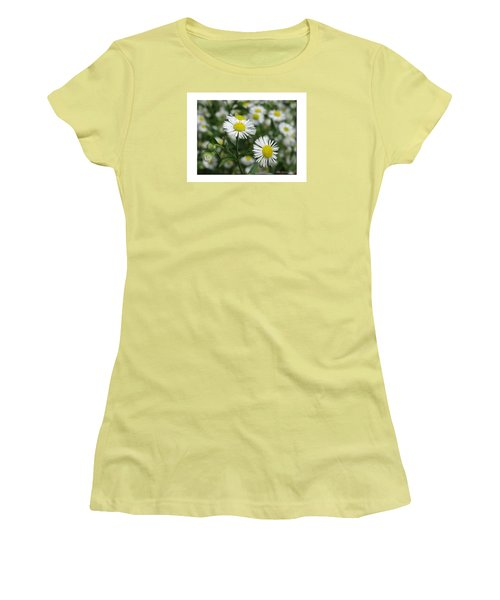 Tiny Flowers Women's T-Shirt (Junior Cut)