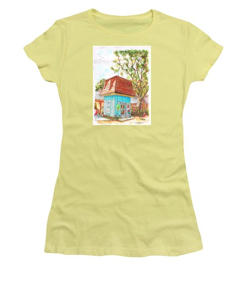 Tiny Tree Boutique In Los Olivos, California Women's T-Shirt (Junior Cut) by Carlos G Groppa