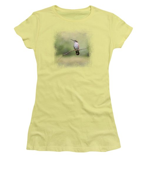 Tiny Visitor Women's T-Shirt (Athletic Fit)