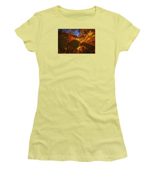 Tlaquepaque Evening Women's T-Shirt (Junior Cut) by Laura Pratt