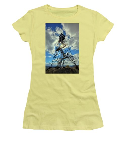 To Climb Or Not To Climb Women's T-Shirt (Junior Cut) by David Patterson