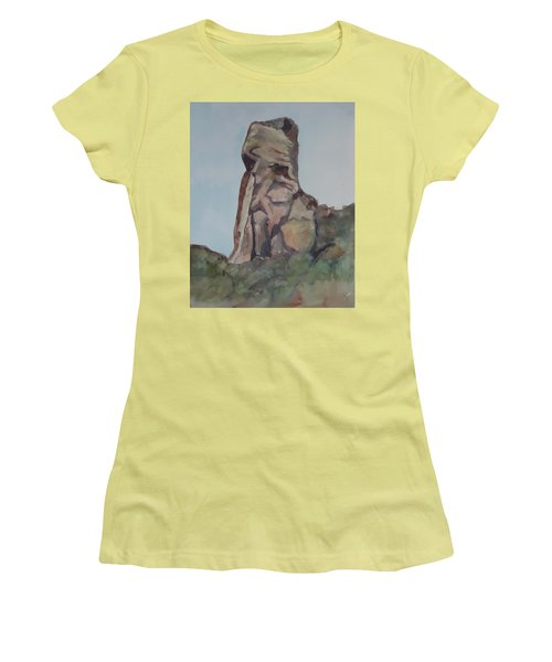 Toad Rock Women's T-Shirt (Athletic Fit)