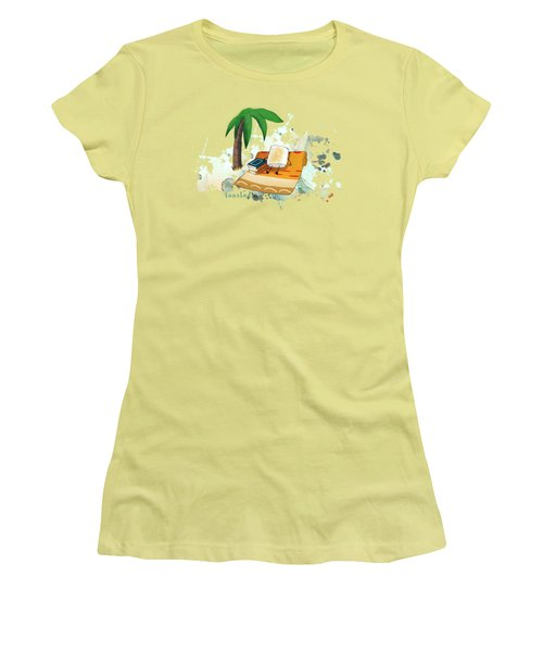 Women's T-Shirt (Junior Cut) featuring the digital art Toasted Illustrated by Heather Applegate