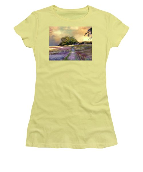 Together We Can Weather The Storms Women's T-Shirt (Junior Cut) by John Rivera
