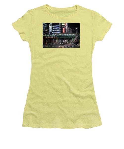Tokyo Transportation, Japan Women's T-Shirt (Athletic Fit)
