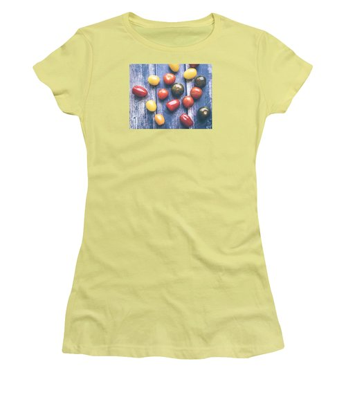Tomato Medley  Women's T-Shirt (Junior Cut) by Nicole English