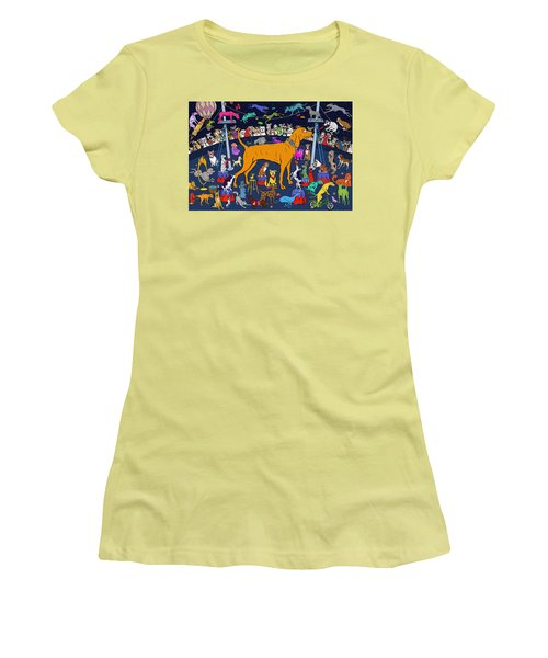 Top Dog Women's T-Shirt (Athletic Fit)