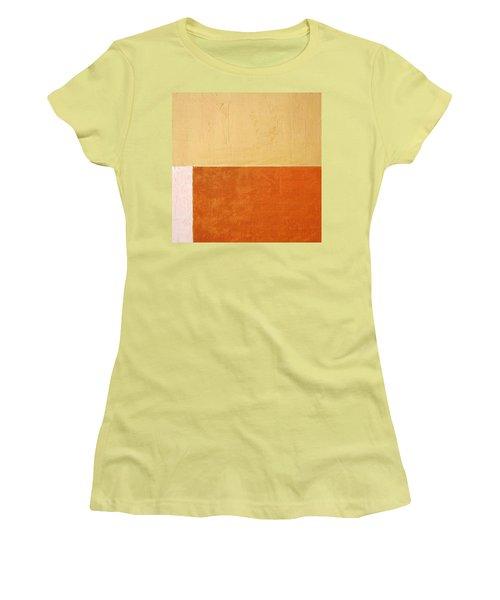 Topaz Pink Orange Women's T-Shirt (Athletic Fit)