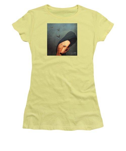 Torment Women's T-Shirt (Junior Cut) by Jacky Gerritsen