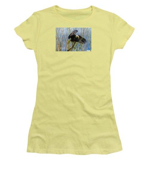 Touchdown Women's T-Shirt (Junior Cut) by Alana Thrower