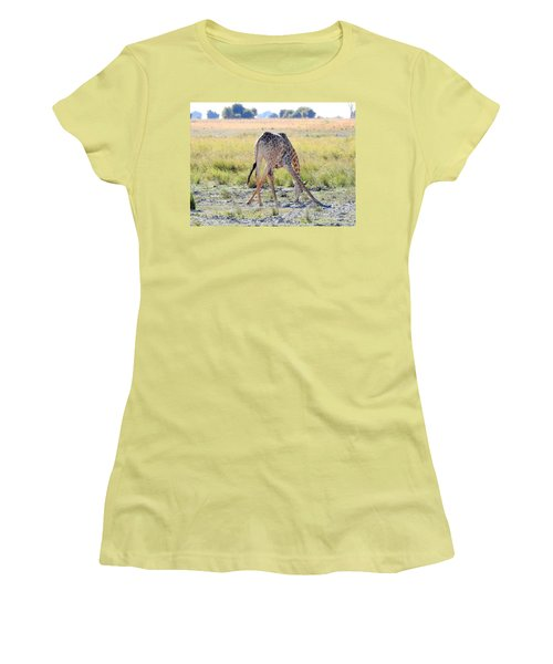 Women's T-Shirt (Junior Cut) featuring the photograph Tough Job by Betty-Anne McDonald