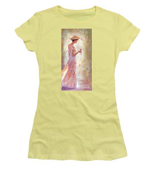 Toujours De Fleurs Women's T-Shirt (Athletic Fit)
