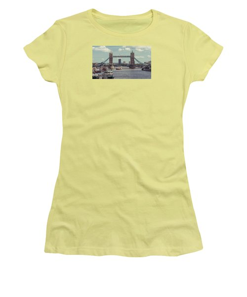 Tower Bridge B Women's T-Shirt (Athletic Fit)