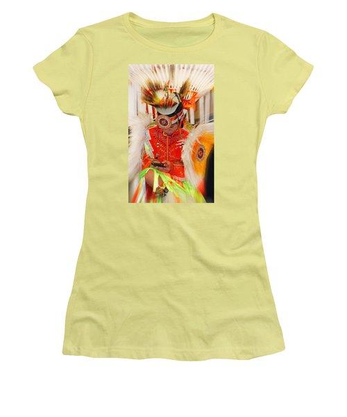 Tradition Meets Technology Women's T-Shirt (Junior Cut) by Audrey Robillard