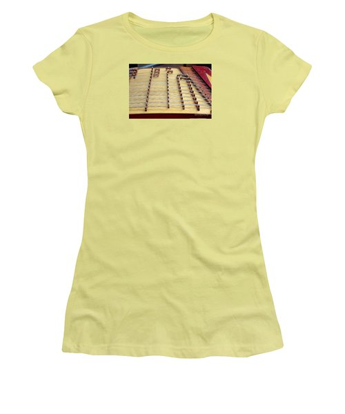 Traditional Chinese Instrument Women's T-Shirt (Athletic Fit)