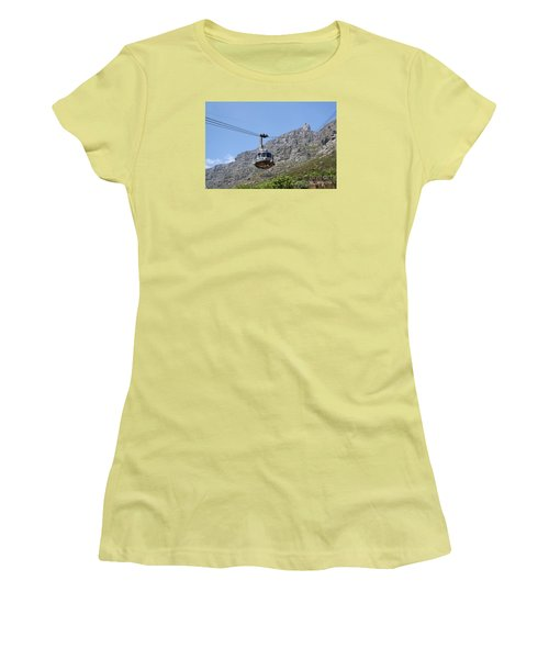Tramway To Cable Mountain Women's T-Shirt (Junior Cut) by Bev Conover