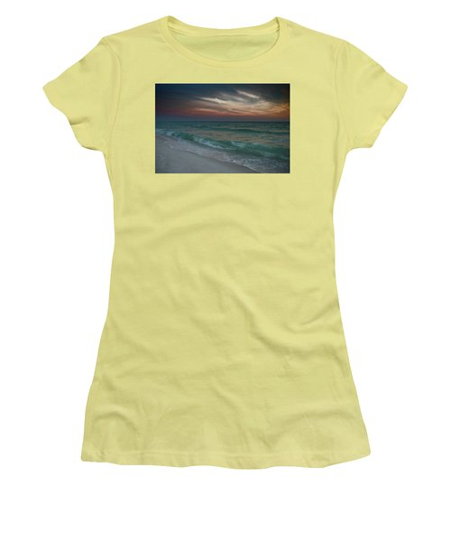 Women's T-Shirt (Junior Cut) featuring the photograph Tranquil Evening by Renee Hardison