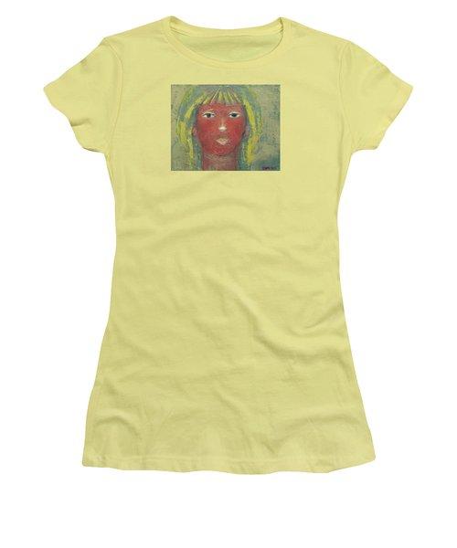 Tranquil Gaze Women's T-Shirt (Junior Cut) by Becky Kim
