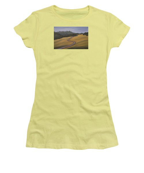 Mystic Trail Women's T-Shirt (Athletic Fit)