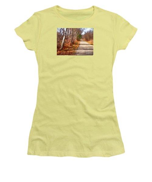 Women's T-Shirt (Junior Cut) featuring the photograph Transformed by Betsy Zimmerli