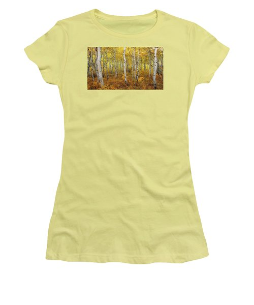 Women's T-Shirt (Athletic Fit) featuring the photograph Transition by Dustin  LeFevre