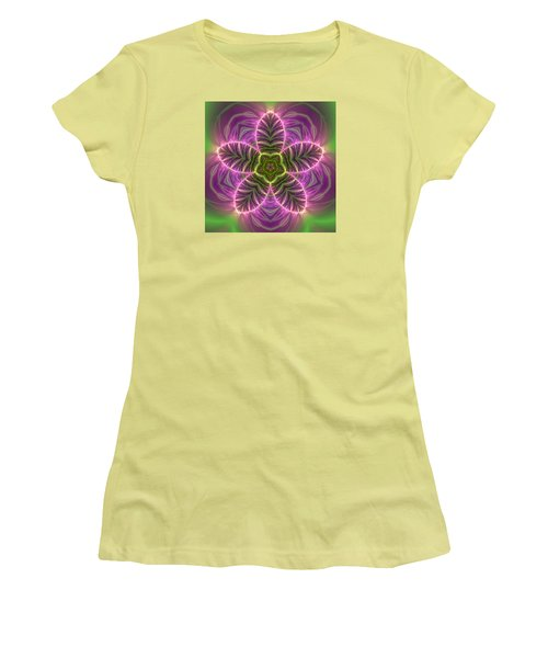 Transition Flower Women's T-Shirt (Athletic Fit)