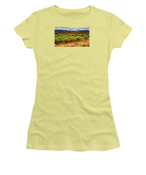 Transition Women's T-Shirt (Junior Cut) by Rick Furmanek