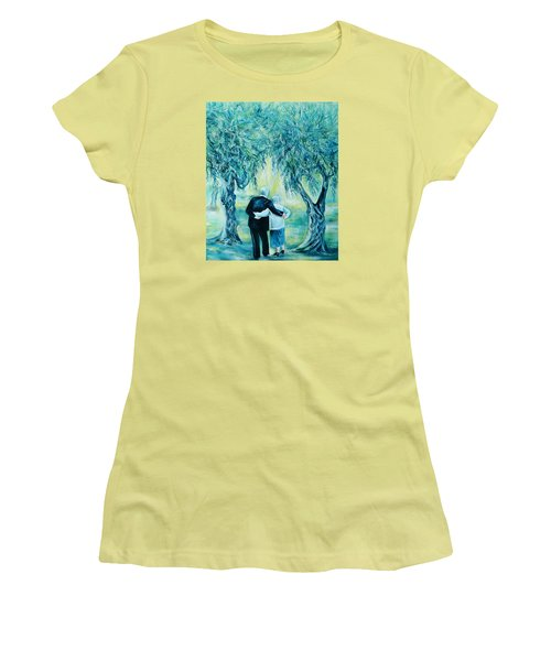 Travel Notebook.olive Groves Women's T-Shirt (Athletic Fit)