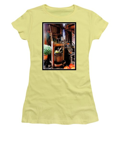 Treasures Of  Fall Women's T-Shirt (Junior Cut) by MaryLee Parker