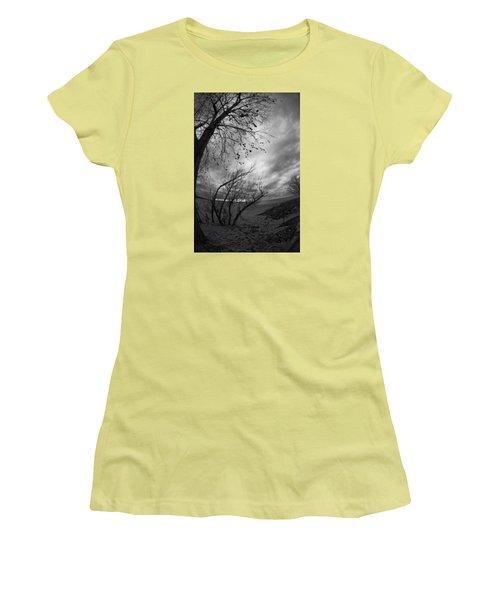 Tree 1 Women's T-Shirt (Junior Cut) by Simone Ochrym