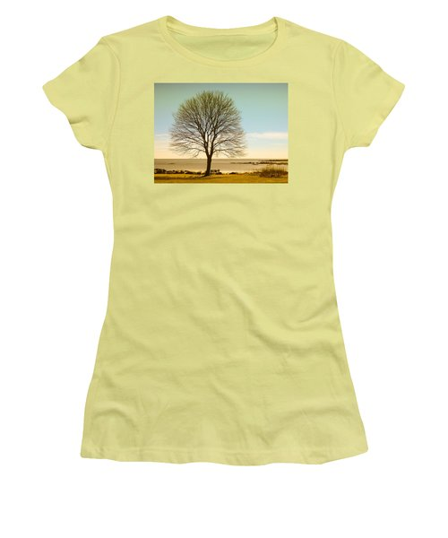 Tree At New Castle Common Women's T-Shirt (Athletic Fit)
