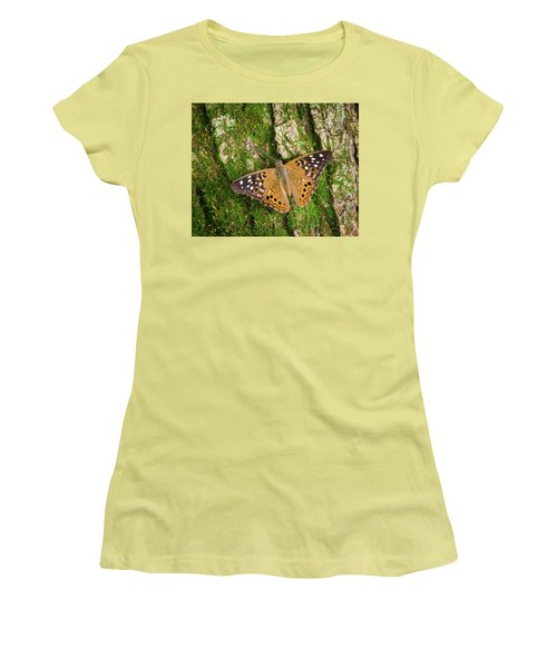 Women's T-Shirt (Junior Cut) featuring the photograph Tree Hugger by Bill Pevlor