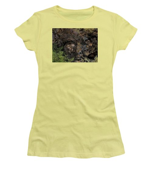 Women's T-Shirt (Junior Cut) featuring the photograph Tree Memories # 27 by Ed Hall