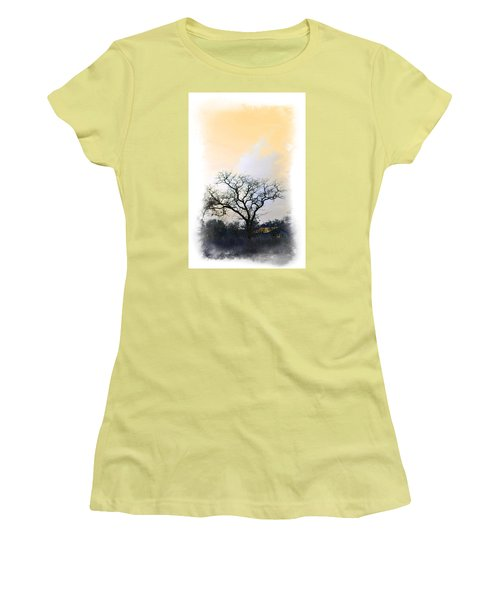 Women's T-Shirt (Junior Cut) featuring the photograph Tree Of La Vernia II by Carolina Liechtenstein