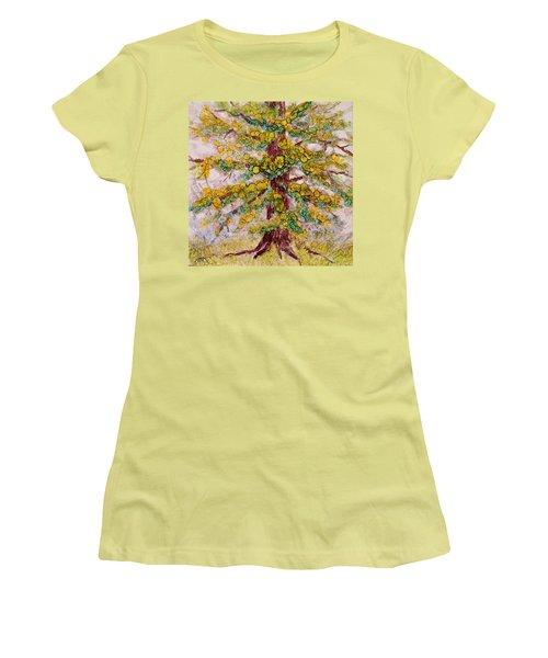 Tree Of Life Women's T-Shirt (Junior Cut) by Joanne Smoley